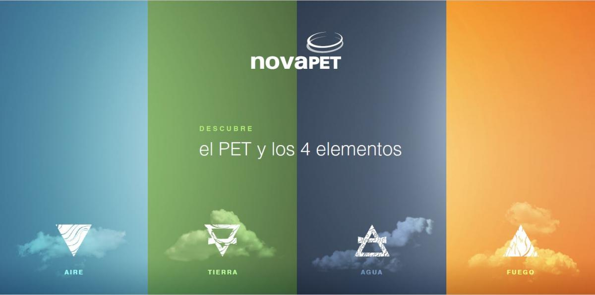 El PET y los 4 elementos Novapet