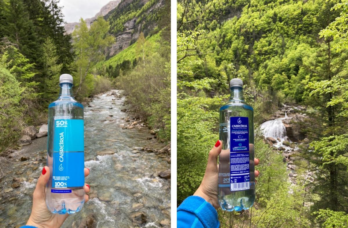 Parque Natural de Ordesa y Monte Perdido_Botella PET reciclado